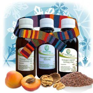 Hidegen sajtolt növényi olaj csomag az immunrendszer erősítésére.