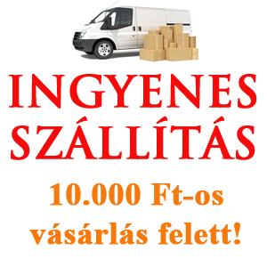 GastrOlaj webáruházunkban a szállítás 10.000 Ft feletti vásárlás esetén ingyenes.